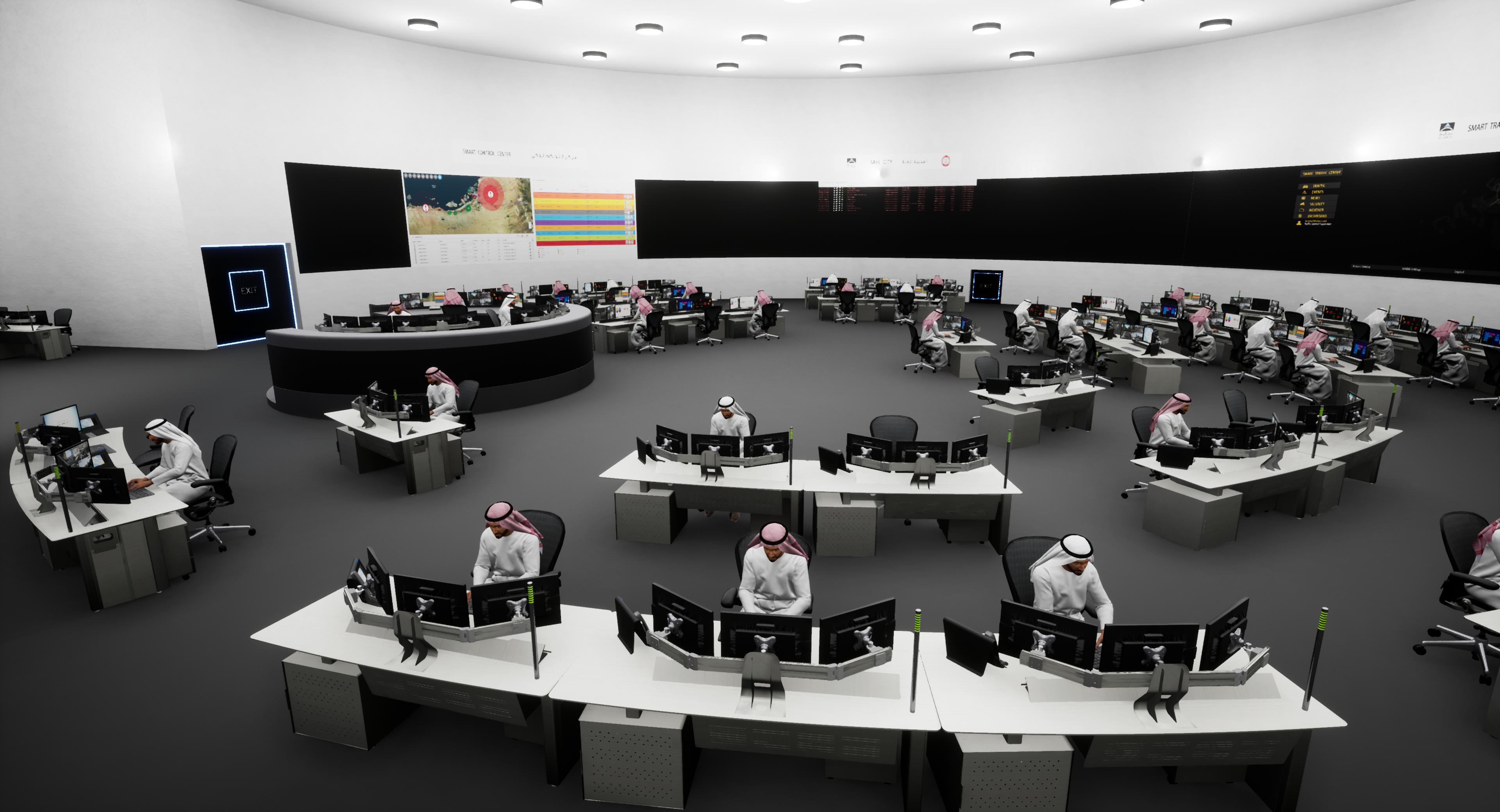 Smart City – Control Room