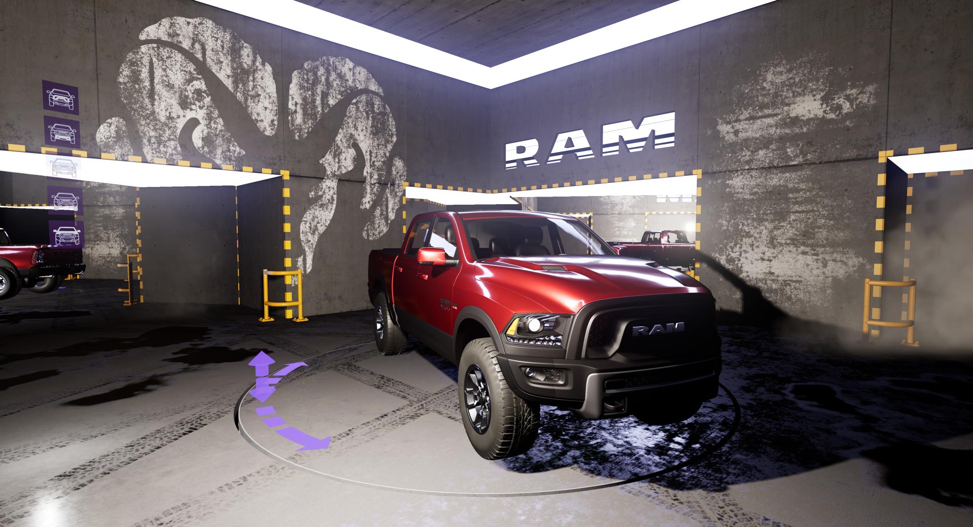 VR garage – konfigurator samochodu
